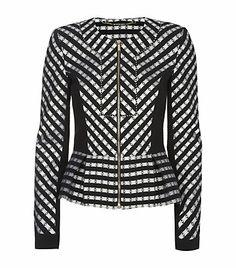 Matthew Williamson Folk Stripe Peplum Jacket  £899.00