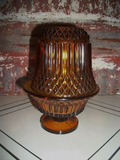 Imperial Amber Fairy Lamp