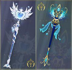 Goldenglow, sword adopt (CLOSED) by Rittik-Designs on DeviantArt Anime Weapons, Fantasy Weapons, Armes Concept, Les Lolirock, Armas Ninja, Elemental Magic, Magical Jewelry, Weapon Concept Art, Magic Art