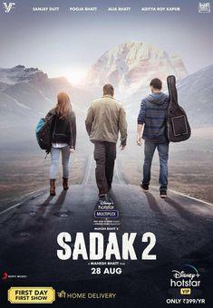 RELEASE DATE FINALIZED... #SanjayDutt, #PoojaBhatt, #AliaBhatt, #AdityaRoyKapur and #JisshuSengupta... #Sadak2 premieres 28 Aug 2020 on #DisneyPlusHotstar... Directed by #MaheshBhatt... Poster... Movie Plot, 2 Movie, Bollywood Actors, Bollywood News, Upcoming Movies, New Movies, Movies Free, Movies Online, The Journey