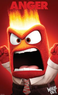 One chill pill and a large herbal tea, please. Does Riley Anderson's emotion Anger from the Disney Pixar animation Inside Out remind you of anyone? #nesteduniverse