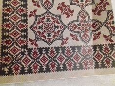 Vintage Embroidery, Cross Stitch Embroidery, Bohemian Rug, Pillows, Rugs, Crochet, Home Decor, 1, India