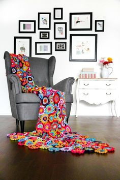 crochet throw 1 Will Crochet Blanket Find Its Way Into Your Modern Home?