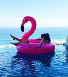 Bouée #flamant #rose. Je ne veux pas m'en passer! #flamingo