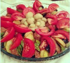 Veggie Food - Baked Potatoes&Eggplant&Green Pepper&Mushroom and Tomatoes - OKitchen