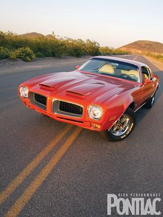 1972 Pontiac Firebird Formula....I need to find another one. This car was so much fun!