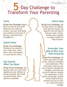 5 Super Simple Habits that Will Transform Your Parenting (Plus a Free Printable) — the Better Mom