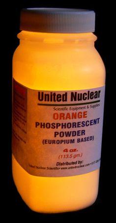 Europium UltraGlow® Powder - ORANGE