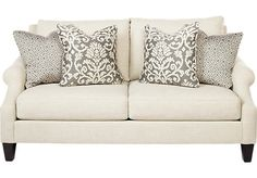 Shop for a Regent Place Loveseat at Rooms To Go. Find Sofas that will look great in your home and complement the rest of your furniture. #iSofa #roomstogo