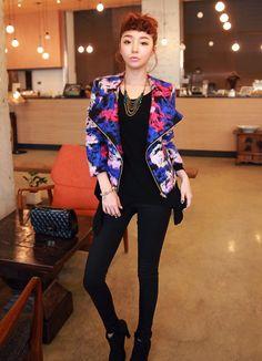 이보다핫할순없다jacket,컬러감,예쁜자켓,유니크함,라이더자켓,울혼방,패딩  sell by 츄