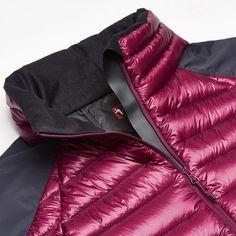 Light Down Insulation Stretch Jacket – Potent Purple – D1 – PAS7502