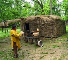 traditional Cherokee house