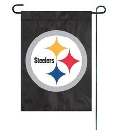 Pittsburgh Steelers NFL Garden Flag