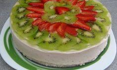 Ovocná piškótová torta plná vitamínov. Nevydrží v chladničke ani jeden deň! - Báječné recepty