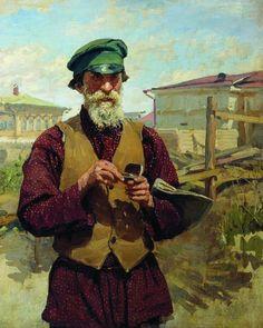 Куликов Иван Семенович (1875 - 1941) - Плотник (Егор Терешкин). 1916