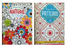 Designer Series Patterns To Color & Nature To Color Adult Coloring Book Set Kappa Book Publishers http://www.amazon.com/dp/B019QQY4KA/ref=cm_sw_r_pi_dp_2uf2wb02CZQ4T
