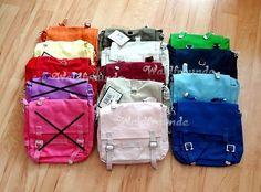 Canvas Taschenrohling-Kindergartentasche zum selber Gestalten.  3 separate Innentaschen - ein großes für die Brot Dose  - ein Fach um eine Trin...
