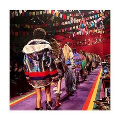 ETRO THE EXPLORER: Under a sky of paisley prayer flags #Etro's #FW17 runway collection was a collision of kaleidoscopic color and print. Inspired by Tibet this is wanderlust fashion at its finest. See all the details from the front row live on Instagram-Stories now! Search @etro to shop at #NETAPORTER. #SeeItBuyItLoveIt #Photo via @ksenia_tatler  via NET-A-PORTER MAGAZINE OFFICIAL INSTAGRAM - Celebrity  Fashion  Haute Couture  Advertising  Culture  Beauty  Editorial Photography  Magazine…