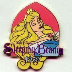 disney sleeping beauty collector's pin