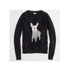 NWT J.Crew Bulldog Sweater j.crew factory // new with tags // retailed for $88 // sold out J. Crew Sweaters