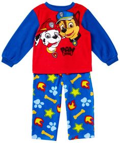 73d32b55f2 AME Paw Patrol Fleece PJ Set (Toddler Boys)