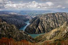 """Este es uno de mis sitios preferidos de Galicia """"Río Sil en la Ribeira Sacra (Lugo-Ourense), Spain"""""""