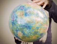 Globe of Venus! $100 by Greenwood Space Travel Supply Co.