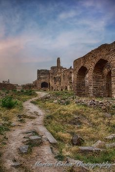 The Path - Golconda Fort, Hyderabad, India
