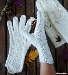 Crochet Bedspread Pattern, Knitting Paterns, Mittens Pattern, Crochet Fashion, Mitten Gloves, Hand Warmers, Fingerless Gloves, Knit Crochet, Sewing
