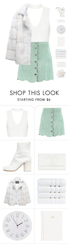 """""""Lights Shine Bright"""" by genesis129 on Polyvore featuring Boohoo, Maison Margiela, Lilly e Violetta, Conair, Christy, Diamantini & Domeniconi, H&M and vintage"""