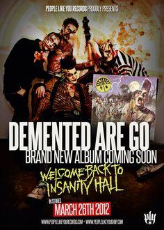 Demented Are Go - Flyer. Photo by Dirk Behlau, www.pixeleye.de