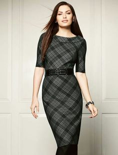 With A Diffe Belt White House Black Market Office Dresses Work