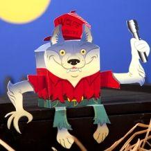 Werewolf Paper Craft plus more!