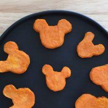 Delicias de batata en forma de Mickey