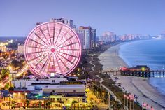 Myrtle Beach | 14 Beautiful South Carolina Destinations To Visit Before You Die