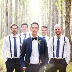 Bianca & Walter's Real Wedding - The Groomswear #hitchedrealwedding
