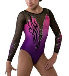 Image shared by Dacian She-Wolf. Find images and videos on We Heart It - the app to get lost in what you love. Gymnastics Competition Leotards, Gymnastics Suits, Gym Leotards, Gymnastics Videos, Rhythmic Gymnastics Leotards, Gymnastics Girls, Ballet Leotards, Dance Outfits, Girl Outfits