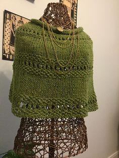 Ravelry: My Friend Virginia pattern by Rose Williams FREE Shawl Patterns, Knitting Patterns Free, Free Knitting, Loom Knitting, Knitting Needles, Free Pattern, Knitted Capelet, Knitted Scarves, Knitting Club
