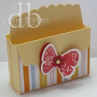 colour me happy: Scallop envelope die - looking back & instructions