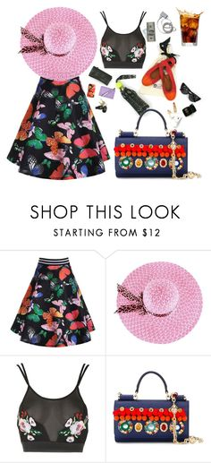 """""""Colourama"""" by didesi ❤ liked on Polyvore featuring Rare London and Dolce&Gabbana"""