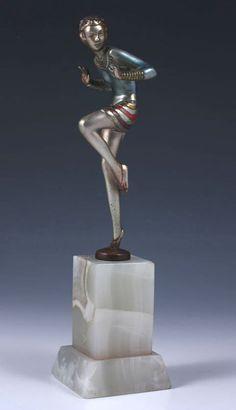Lorenzl Art Deco Sculpture