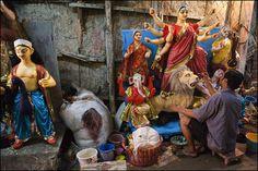 clodreno:  D U R G A. Kolkata on Flickr.