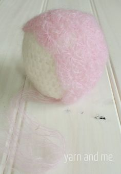 Full Shell Stitch Bonnet for Babies; free pattern