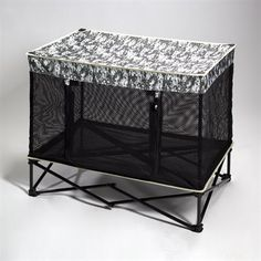 * Quik Shade Pets' Pet Kennel in Digital Camo print (Medium) *