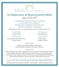 national nursing home week ideas activity director s idea board
