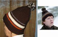 Ron's Tuque hat from the half blood prince~ pdf  http://www.freshislefibers.com/Patterns/ronhat/RonsTuque.pdf