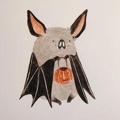 Halloween Illustration, Art Et Illustration, Illustrations, Illustration Animals, O Cowboy, Fröhliches Halloween, Arte Sketchbook, Wow Art, Oeuvre D'art