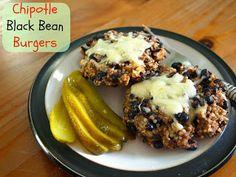 Chipotle black bean burgers | Knead Whine. Uk dinner recipe