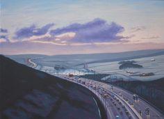 """Saatchi Online Artist Paul Wilson; Unknown, """"Winter M62"""" #art"""