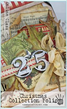 Tammy Tutterow Class | Christmas Collection Folio | Online Class by Download